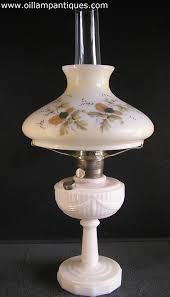 Antique Oil Lamps Ebay by Tall Lincoln Drape Lamp By Aladdin 1940s Oil Lamp Antiques