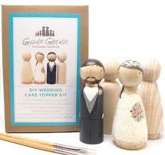 Wedding Cake Topper DIY Kit