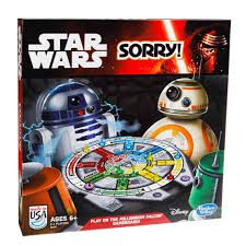 Sorry Star Wars Edition Game