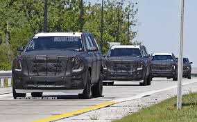 Spied! Chevrolet Suburban, Cadillac Escalade, GMC Yukon With Ford ... 2002 Gmc Yukon Slt 4x417787b Youtube Review 2015 Denali Xl Cadian Auto 2016 Overview Cargurus 2018 The Fast Lane Truck Capsule Truth About Cars 2 Door Tahoeblazeryukon If You Got One Show It Off Chevy Tahoe A Yacht A Brute Magnificent Ride Hennessey Hpe600 On Forgeline One Piece Forged Ultimate Black Edition Vehicles Pinterest Ford Expedition Vs Which Gets Better Mpg Quick Take Motor Trend