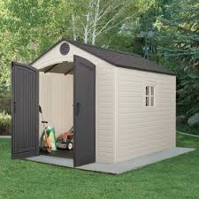 lifetime 6405 8 x 10 ft outdoor storage shed