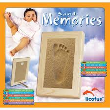 empreinte pied bébé avec cadre