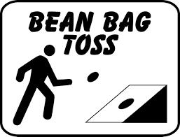 Bean Bag Toss Sign