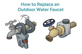 how to replace an outdoor water faucet hunker