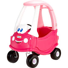 100 Little Tikes Princess Cozy Truck Coupe Magenta Pedal Push Baby