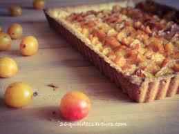 recettes de tarte aux mirabelles et pâte sablée