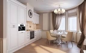 Best Floor For Kitchen Diner by Neutral Traditional Kitchen Diner Interior Design Ideas