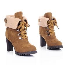 amazon com milesline fashion women u0027s booties winter warm fur