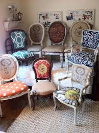 Eclectic Dining Chairs For A Formal Dinning Game Table Small Round Four Different