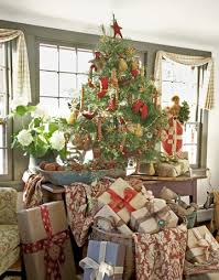 Tumbleweed Christmas Trees by Blue And White Holiday Decorating Christmas House Tour
