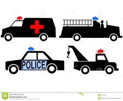 Emergency Vehicles Stock Vector. Illustration Of Fire - 2181431