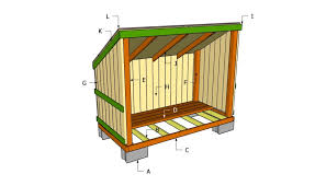 woodshed plans diy pinterest firewood wooden storage house plan