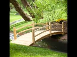 diy decorating ideas for small garden bridge youtube