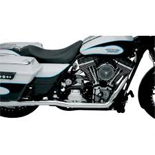 vance hines chrome dresser duals for 95 08 harley touring flhx