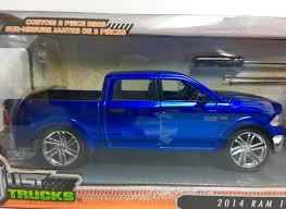 100 Blue Trucks Jada Just 124 HTF 2014 Dodge Ram 1500 Tire Rack Diecast