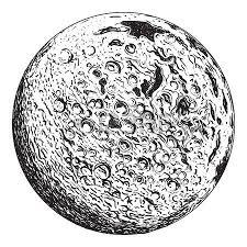 Lunar Clipart Moon Crater 2