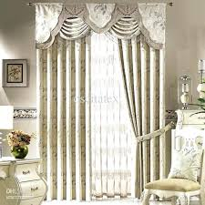 Dining Room Curtains And Valances Living Curtain Ideas