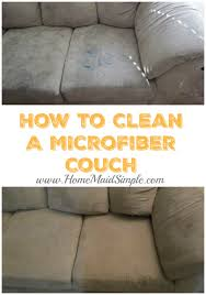 How to clean a Microfiber couch or other microfiber furniture