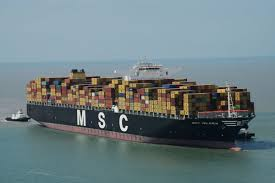 The MSC Oscar Just Became The World's Biggest Container Ship - Vox