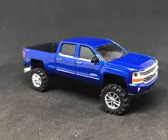 100 Custom Diesel Trucks 2018 Chevy Silverado 2500 4x4 Lifted 164 Diecast Truck Farm