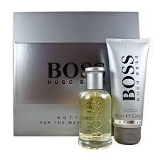 bottled eau de toilette 100ml hugo bottled 50ml gift set with shower gel perfume
