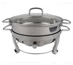 Round Electric Chafing Dish