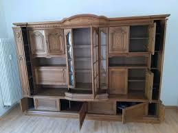 wegen renovierung günstig abzugeben wohnzimmer schrankwand eiche