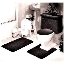 Red And Black Bathroom Rug Set by Luxury Inspiration 5 Piece Bathroom Rug Set Roselawnlutheran Sets