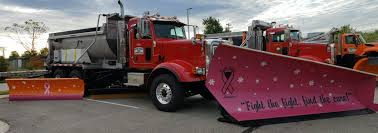 100 Plow For Truck OCRC Takes Top Prize For Breast Cancer Awareness Plow Truck