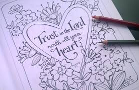 Simple Blessings Garden Coloring Books By Karla