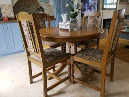 Lovely Old Dining Table And 4 Chairs Solid Oak Extendable | In Grantham,  Lincolnshire | Gumtree Vintage Retro 1950s Chrome Grayyellow Ding Kitchen Table Interior Of An Old House Cluding Two Chairs And A Kitchen Lovely Ding Table 4 Solid Oak Extendable In Grantham Lincolnshire Gumtree Tables And Chair Sets Millennium Old World 7pc Chairs Luxury Weird Restoring Themes Of Homes Dwell Eiffel Style With 1920 Antique Uberraschend Wooden Best Room The Brick Fniture Company