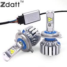 2pcs bright h4 led bulb canbus 80w 8000lm headlight h1 h3 h7