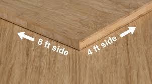 Stranded Natural Unfinished Bamboo Hardwood Plywood Sheet Angle