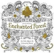 Johanna Basford Enchanted Forest An Inky Quest And Colouring Book