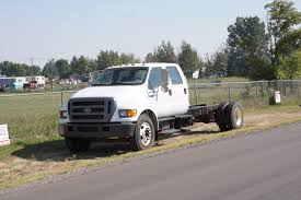 Used Deweze Bale Beds For Sale by 2003 Ford F750 Chassis Crew Cab Dickinson Truck Equipment