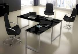 bureau design noir laqu bureau noir laqué majestic à découvrir sur lignes bureau