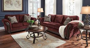 Chesterbrook Burgundy Living Room Set Living Room Sets Living
