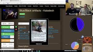 Oloro Commander Deck Ideas by Brainstorming Magic Kaladesh Deck Ideas Episode 2 Youtube