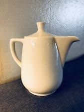 Vintage Melitta Coffee Tea Pot White Porcelain Germany 0 6 No Drip Piece