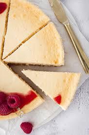 new york cheeseceake mit himbeeren käsekuchen cheesecakes