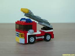 LEGO 6911 LEGO CREATOR 3 IN 1 Mini Fire Truck | Blog : Www.t… | Flickr