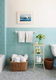 Beach Glass Bath Accessories by 44 Sea Inspired Bathroom Dcor Ideas Digsdigs Aqua Blue Bathroom