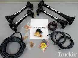 Hornblasters Train Horn Install - Truck Air Horns - Truckin' Magazine Tips On Where To Buy The Best Train Horn Kits Horns Information Truck Horn 12 And 24 Volt 2 Trumpet Air Loudest Kleinn 142db Air Compressor Kit230 Kit Kleinn Velo230 Fits 09 Hornblasters Hkc3228v Outlaw 228v Chrome 150db Air Horn Triple Tubes Loud Black For Car Universal 125db 12v Silver Trumpet Musical Dixie Duke Hazzard Trucks 155db 200psi Viair System Conductors Special How Install Bolton On A 2010 Silverado Ram1500230 Ram 1500 230 With 150psi Airchime K5 540
