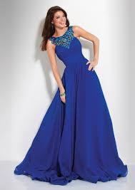 shop 2014 elegant prom dresses a line floor length dark royal blue