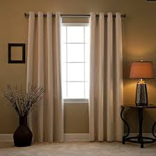 Grommet Insulated Curtain Liners by Hversailtex 1one Panel Linen Grommet Blackout Window Treatment