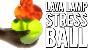 diy lava lamp stress ball pinteres