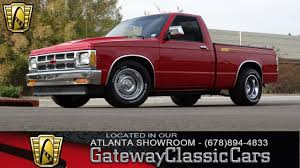 100 1988 Chevy Truck For Sale Chevrolet S10 Gateway Classic Cars Of Atlanta 99 YouTube