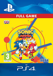 Sonic Mania Standard Edition [PS4 Download Code - UK Account ...