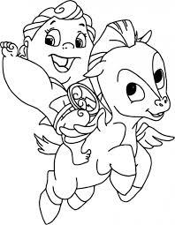 Pegasus Coloring Pages Download Image