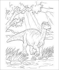 Dinosaur Coloring Page To Print